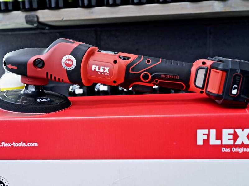 FLEX PE 150 18.0 EC 5.0 Set Cordless Polisher