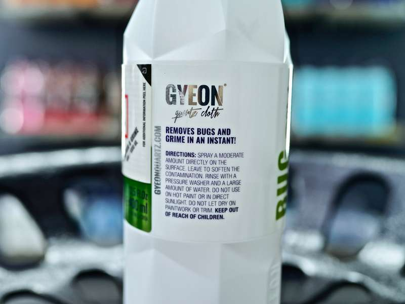 Gyeon Q²M Bug and Grime - Removes Bugs and Grime In An Instance! 400ML